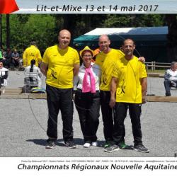 Stéphane, Laurent et Bertrand à LIT ET MIXE (40)